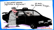 UBER ASIC where are they registered Margin Call cartoon 2014-11-11