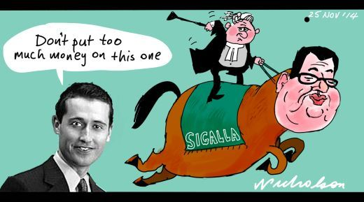 Sigalla bad bet Margin Call cartoon 2014-11-25