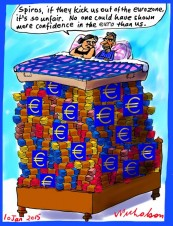 Grexit totally correct Business cartoon 2015-01-10
