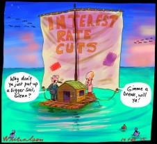 Glenn Stevens raft becalmed interest rates have lost power to stimulate Business 2015-02-14