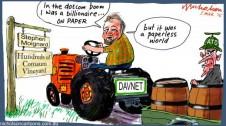 Steve Moignard paperless DAV/NRT  Margin Call cartoon  2015-03-05
