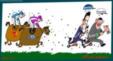 Tripp Packer Nine Seven Australian business cartoon Margin Call 2015-06-05