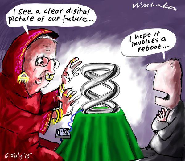 ABC future Mark Scott reboot Media cartoon Australian 2015-07-06