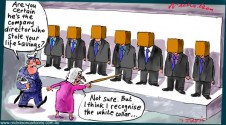 Governance Institute ASIC lineup directors Margin Call cartoon Australian 2015-07-07