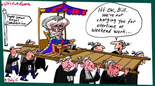 Bill Shorten Trade Union Royal Commission Margin Call Australian business 2015-07-09