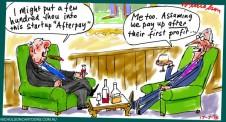 Afterpay raising  margin Call cartoon Australian 2015-07-17