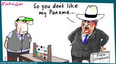 Frank O'Halloran interest in Panamanian company Margin Call business cartoon 2015-10-27