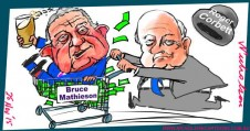 Bruce Mathieson Roger Corbett shopping 2015-11-25