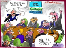 Slater and Gordon shares crash  Australian business 2015-11-28