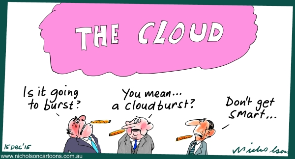 The Cloud is it a bubble Margin Australian 2015-12-15