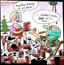 Oil Glut Boxing Day cartoon 2015-12-23