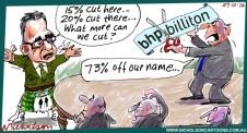 BHP may ditch Billiton name Margin Call cartoon 2016-01-29