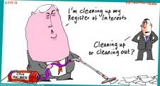 Clive Palmer vacuums his register margin Call Australian 2016-02-04