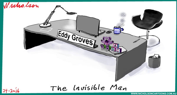 Eddy Groves invisible man 2016-02-24