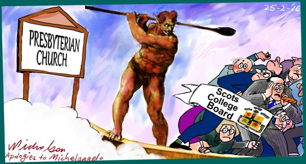 Prebyterians oust Scots College Board  2016-02-25