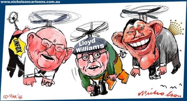 2016-03-10 helicopters Fox Packer Williams australian cartoon