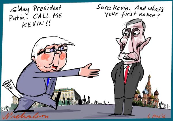2016-05-06 Rudd bid for UN post Putin unenthusiastic Margin Call The Australian