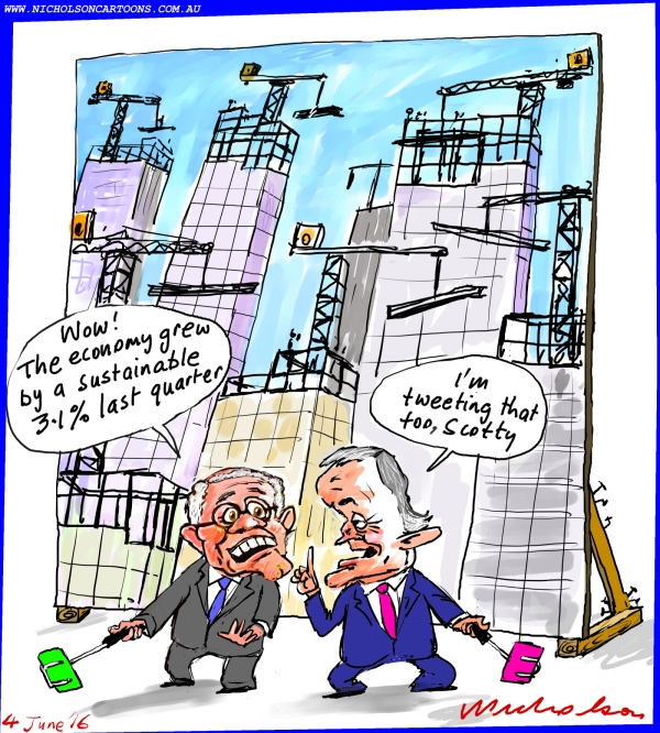 2016-06-04 economy spike no-one believes it  Morrison Turnbull