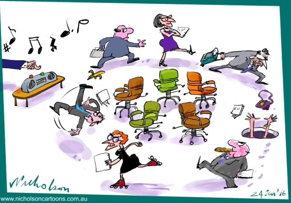 2016-06-24 new appointments coming after election eg BCA Margin Australian cartoon