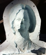 Julia Gillard mystery image from mould photo